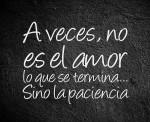 El amor no termina