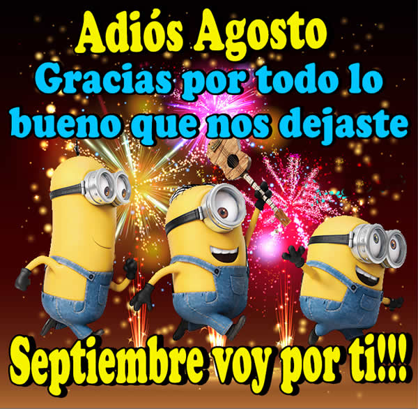 Adios Agosto