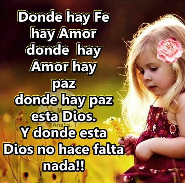 Donde hay amor