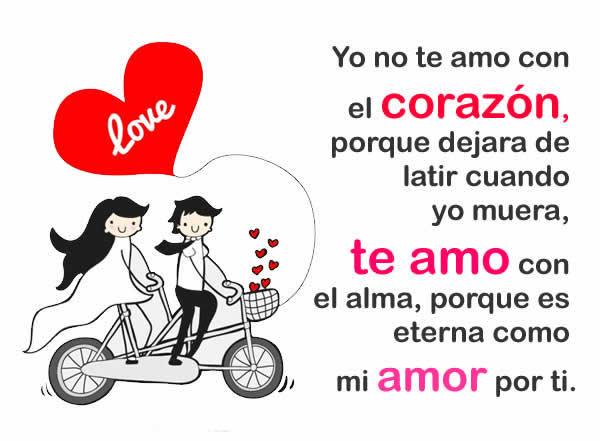 Frases de amor con cariño