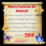 Consejos para recibir el año nuevo 2019 Letra