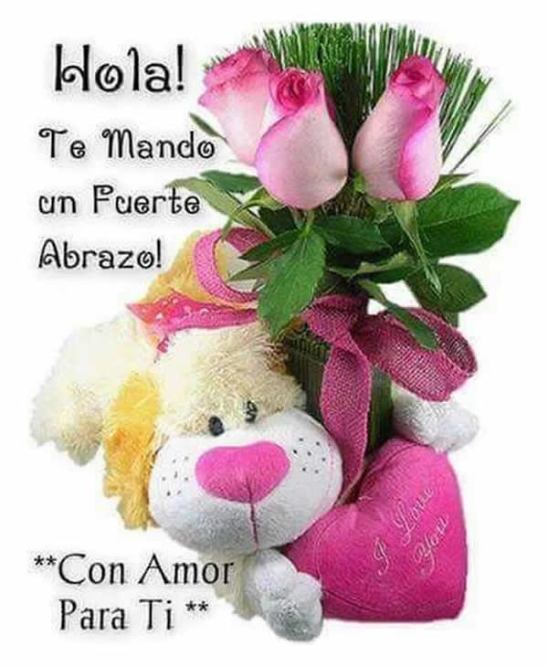 Imagenes de peluches con rosas bonitas