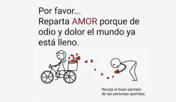 repartir amor