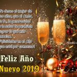 Frases de año nuevo 2019 con Imagenes