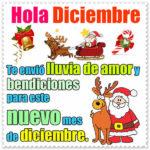 Fotos con frases de bienvenido diciembre
