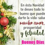 Imagenes de navidad con saludos de buen dia