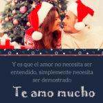 Frases bonitas de amor de navidad
