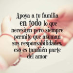 Frases de responsabilidad y la familia