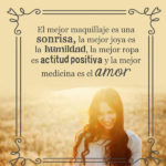 Frases de sonrisa y mucho amor con fotos
