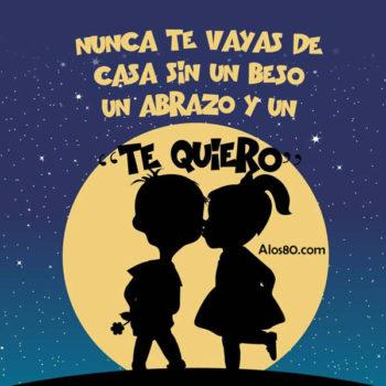beso y amor