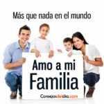 Amo a mi familia con todo mi corazon
