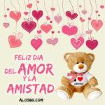 Feliz dia del amor y amistad 2019