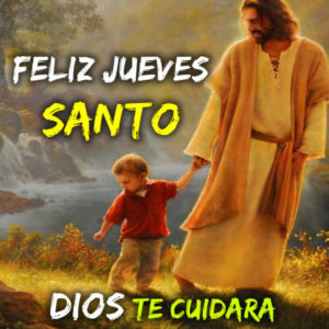 Jueves santo frases