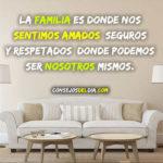 Respeto y amor base de una buena familia