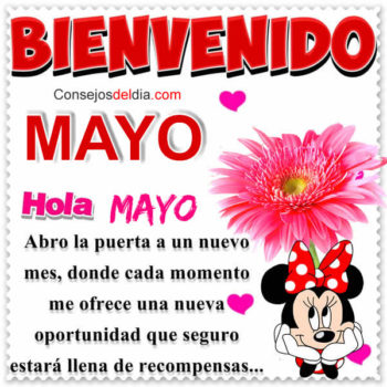 mes de mayo frases