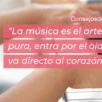 Frases con Fotos: La musica es el arte mas puro