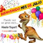 Bienvenido mes de Julio Frases