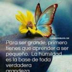 Frases con imagenes de la humildad