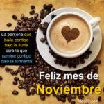 Feliz mes de noviembre letras