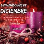 Imagenes con Frases: Bienvenido Diciembre