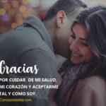 Frases Lindas: Gracias por amarme tanto amor