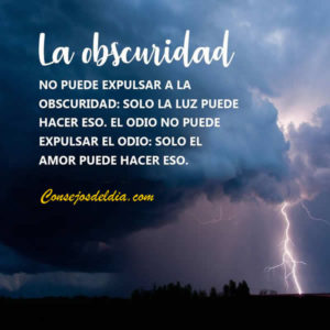 oscuridad frases