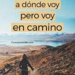 Frases lindas con fotos de Viajeros y Mochileros
