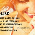 Imagenes de Felicidad con Frases: Sonrie siempre
