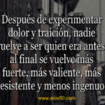 Imagenes con Frases de Dolor y Traicion