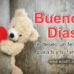Imagenes lindas de Buenos Dias con mensajes de amor
