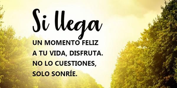 sonrie a la vida