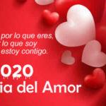 Frases de Feliz Dia del Amor 2020