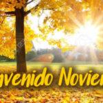 Mensajes para recibir el mes de Noviembre con imagenes