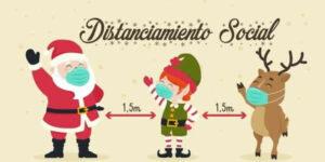 distanciamiento social navidad