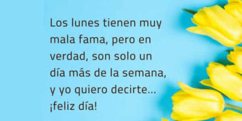 lunes frases