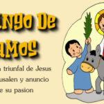 Feliz Domingo de Ramos con frases de semana santa