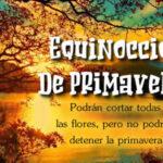 Frases: Bienvenido Primavera - Equinoccio de Primavera