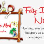 España celebra el Dia del Niño este 15 de Abril