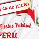 28 y 29 de Julio: Fiestas Patrias Peru